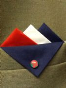 Mixed Colour Pocket Hankies